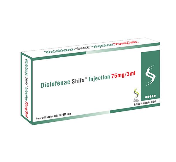 Diclofénac Injection 75mg/3ml