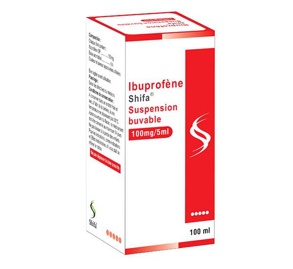 Ibuprofène Suspension Buvable 100mg/5ml