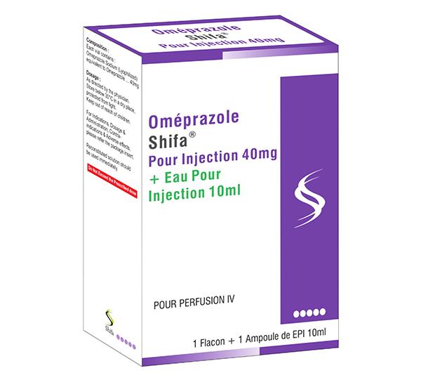 Oméprazoles Pour Injection 40mg