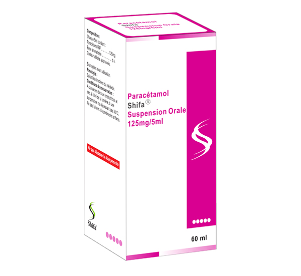 Paracétamol Suspension Orale 125mg